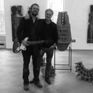 Solo-Konzert auf Vernissage von Gerhard Hahn